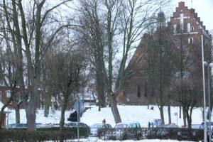 Stadtkirche im Winter